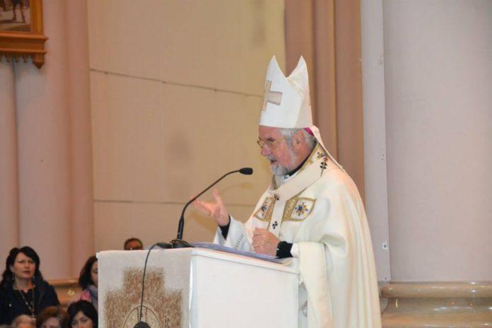 foto Bregantini in Basilica Castelpetroso