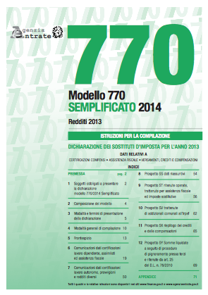 Proroga in vista per il 770 attesa l 39 ufficialit for Scadenza modello 770