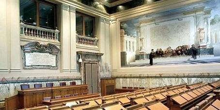 Risultati immagini per sala del parlamentino cnel