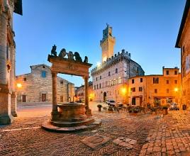 Borgo storico di Montepulciano
